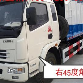 压缩式垃圾车价格_ 5吨侧装压缩式垃圾车_3吨压缩垃圾车厂家