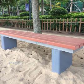 汕头市塑木公园长凳