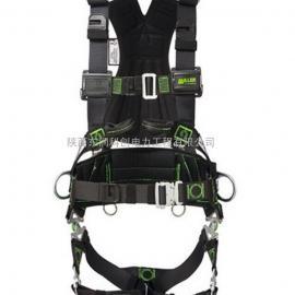 风电专用安全带 电工腰带 双钩伸缩安全绳 滑块