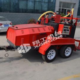 小型灌缝机沥青修补路面养护灌缝机使用