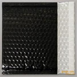 黑色导电膜复合气泡袋 防静电包装材料 工厂批量供应