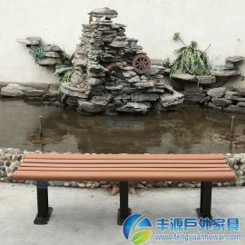 惠州市公园长凳背面