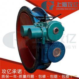 调节型电动通风蝶阀 D941W-1C-DN250智能型电动通风蝶阀