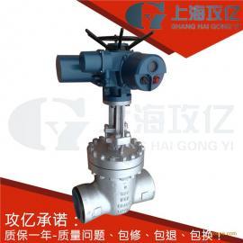 Z961Y-200R-DN80电动焊接闸阀Z961Y-250C-DN65蒸汽电动焊接闸阀