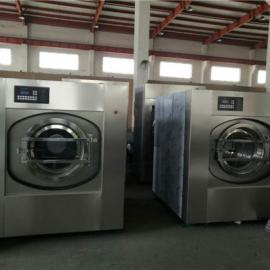 酒店餐饮布草洗涤设备_宾馆床单被套全自动洗衣机价格