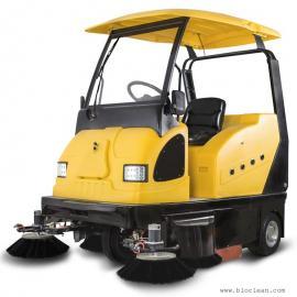 明诺电动扫地机I800W 工厂物业保洁用清扫车