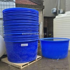 厂家定制M2000L塑料圆桶包装桶肥料搅拌桶图片
