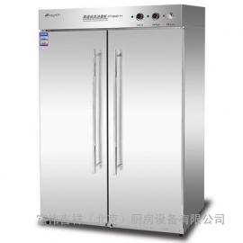 康煜RTP-800B2高温消毒柜 不锈钢双门消毒柜