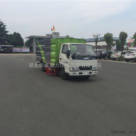 柴油动力省油扫路车,清扫车清扫面积