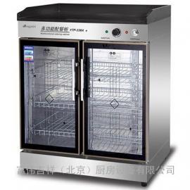 康煜YTP-338A配餐柜 不锈钢茶水柜 大理石台面