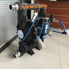 美国固瑞克GRACO粉末泵粉体输送泵2寸不锈钢泵白炭黑
