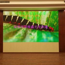 综合大厅安装LED高清晰视频大屏幕应用型号报价