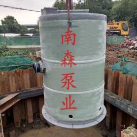 地埋式玻璃钢一体化污水处理泵站