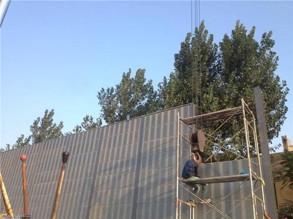 昆山市高架桥隔音屏 桥梁声屏障厂家 高速隔音板