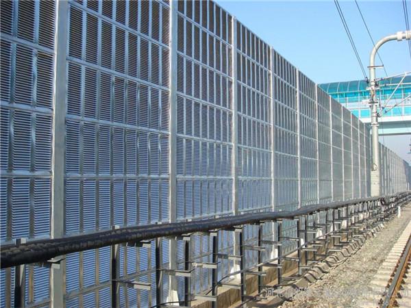 张家港市城市声屏障 透明隔声屏 亚克力吸音屏