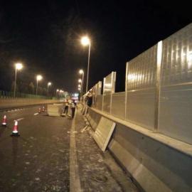 兴平市高速隔音板 陕西声屏障厂家 路基隔音屏
