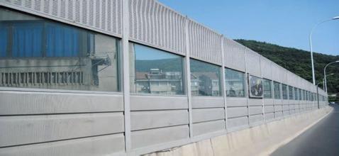 咸阳市公路隔音板 冷却塔吸音板 桥梁声屏障