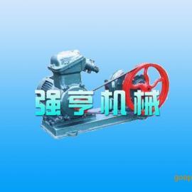 郑州强亨LCX不锈钢保温油脂酸泵流量大寿命长