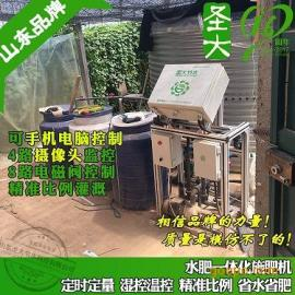 山东寿光施肥机厂家 蔬菜种植全自动化灌溉水肥一体机可手机控制