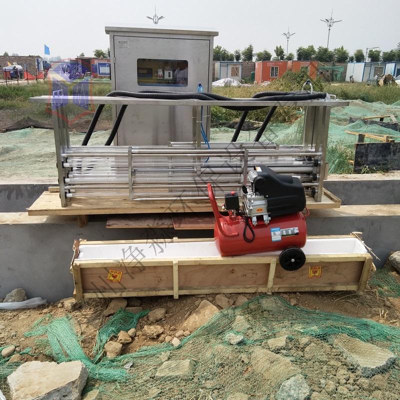 定州净淼供应福建框架式紫外线消毒杀菌器污水处理设备