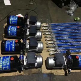 升降机液压动力站前法兰液压缸厂家