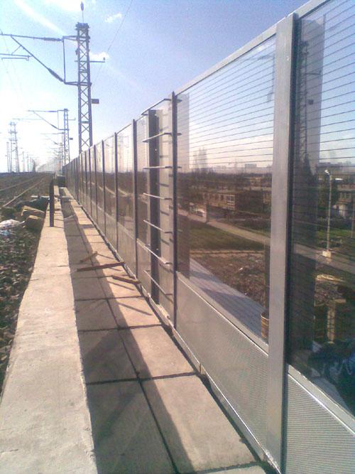 嘉峪关高速声屏障 嘉峪关声屏障厂家 桥梁吸声板