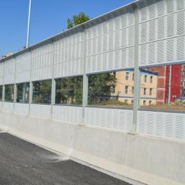 池州公路声屏障厂家 高铁声屏障 空调机组隔音墙