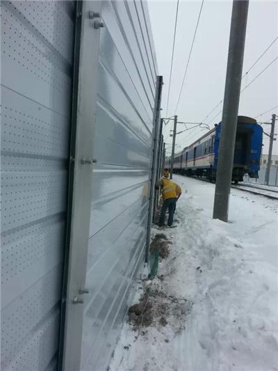 黄山绕城高速声屏障 黄山声屏障工厂 铁路声屏障