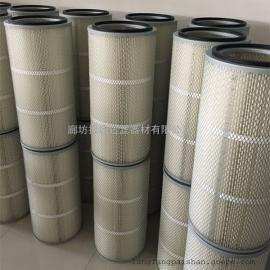 覆膜卡盘除尘滤芯 粉末回收滤筒滤芯 可防静电防油防水