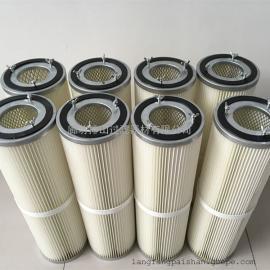 日本进口东丽覆膜除尘滤筒 三螺杆吊装除尘滤芯粉尘滤芯