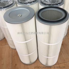 焊接车间烟尘净化除尘滤筒 覆膜3286除尘滤芯滤筒