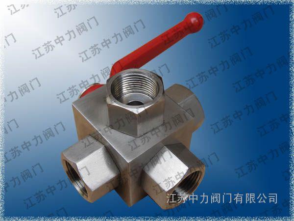 ZLQ401P不锈钢高压四通球阀