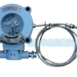 WTZd-288防爆压力式温度计电接点双上限测温仪表WTZD-288双上限温