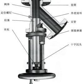 卡箍式真空柱塞取样阀 真空柱塞取样阀 卡箍式柱塞取样阀