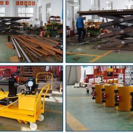 液压顶管机大吨位管道打孔机液压吨位顶杆机