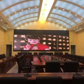 观察室安装超大尺寸LED拼接式彩色屏幕定做厂家