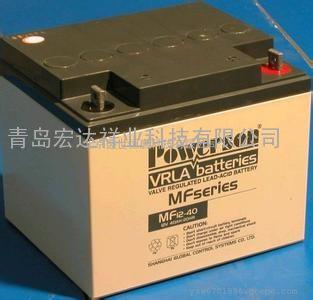 Powerson蓄电池MF12-65 复华保护神12V65AH长寿命蓄电池