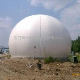 垃圾填埋场气体收集与综合利用项目专用2500立方双膜气柜