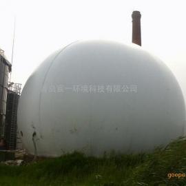 安丘市煤气工项目公用800乘方环保独立双膜气柜