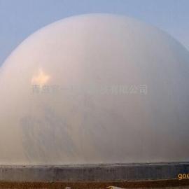 秦皇岛煤气工项目公用2000乘方独立式双膜煤气储气柜