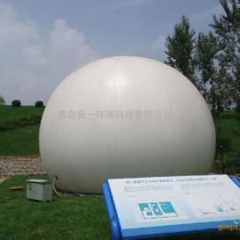 3000立方沼气工程专用 一体化双膜气柜价格