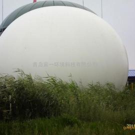 油气回收利用气体收集专用1500立方双膜气柜