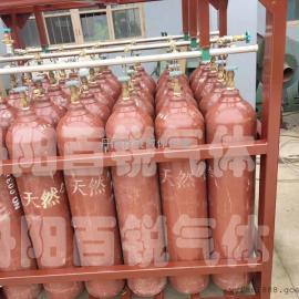 厂家直供天然气、氢气9-20�J组气瓶集装格周转箱
