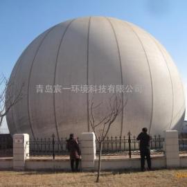 秦皇岛煤气工项目公用800乘方双膜煤气储气柜