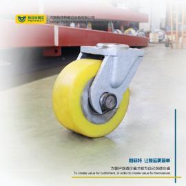 电动平板车专用车轮大型重载工厂搬运车聚氨酯包胶轮姓高齐全