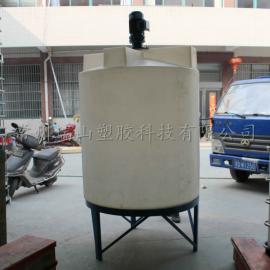 1吨锥底环保加药箱,搅拌桶,厂家直销,质量保证