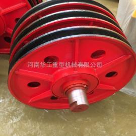 厂家直销 行车吊钩滑轮组 16T铸钢滑轮组 大吨位滑轮片