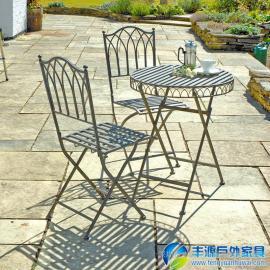 广州市靠墙户外桌椅批发