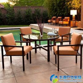 广东休闲桌椅 阳台三件套图片