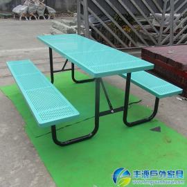 珠海市铁艺户外休闲桌椅图片